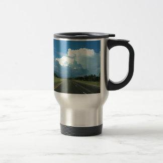 A beautiful storm mug
