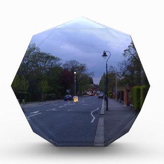 A beautiful street in Scotland at sunset Award