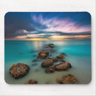 A Beautiful Sunset Over Grace Bay | Turks & Caicos Mouse Pad