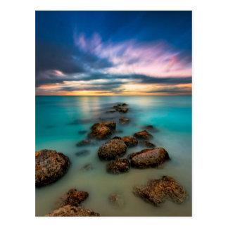 A Beautiful Sunset Over Grace Bay | Turks & Caicos Postcard