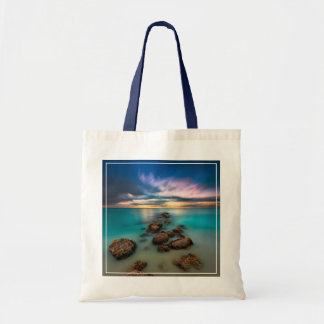 A Beautiful Sunset Over Grace Bay | Turks & Caicos Tote Bag