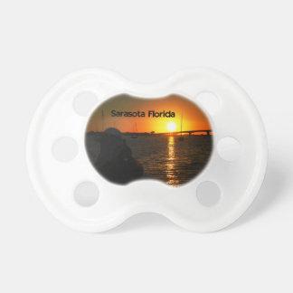 A beautiful sunset pacifier