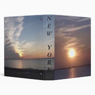 A beautiful sunset vinyl binders