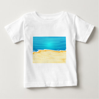 A beautiful view of the beach t shirts