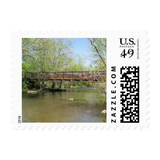 A Beautiful View of the River Stamps
