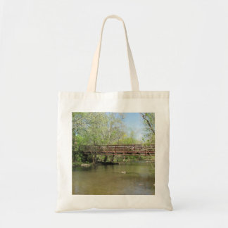 A Beautiful View of the River Tote Bag