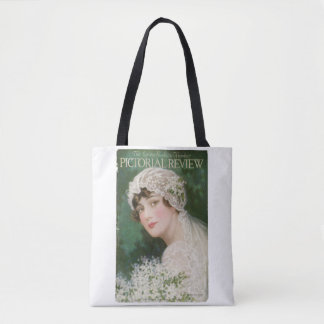 A Beautiful Vintage Bride Circa 1914 Tote Bag