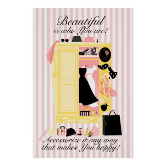A Beautiful Wardrobe! Poster