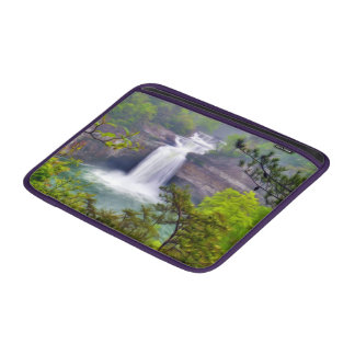 A Beautiful Waterfall In The Deep Forests Of Nort MacBook Sleeve