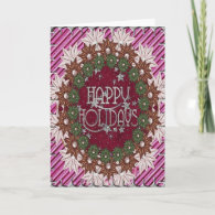 A beautiful way to say Happy Holidays Greeting Card