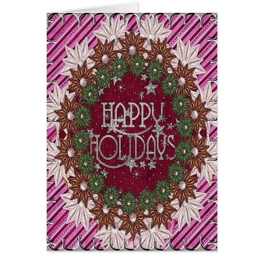 A beautiful way to say Happy Holidays Card