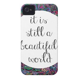 A Beautiful World iPhone 4 Case