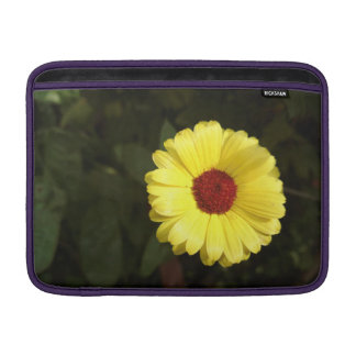A beautiful yellow flower sleeve for MacBook air