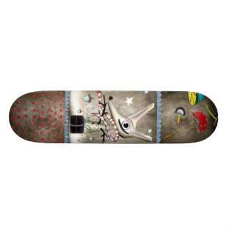 A beauty Fox winter sport boy Skateboard