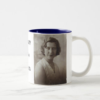 A BEAUTY, FROM, THE  30s Two-Tone Coffee Mug