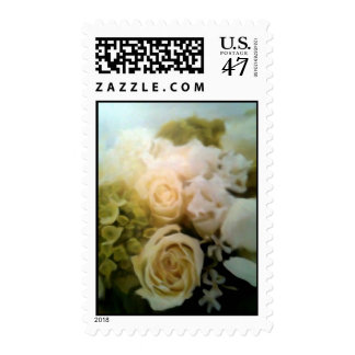 A Bed Of Roses Postage