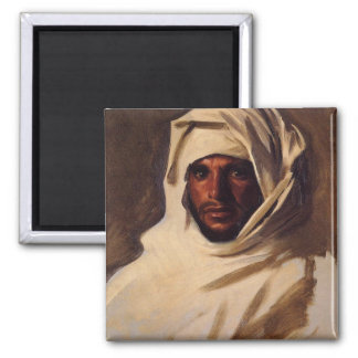 A Bedouin Arab 2 Inch Square Magnet