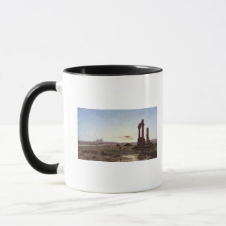 A Bedouin Encampment by a Ruined Temple Mug