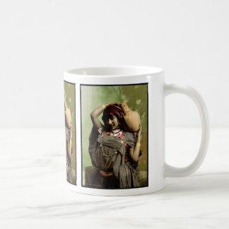 A Bedouin woman, Tunis, Tunisia vintage Photochrom Classic White Coffee Mug