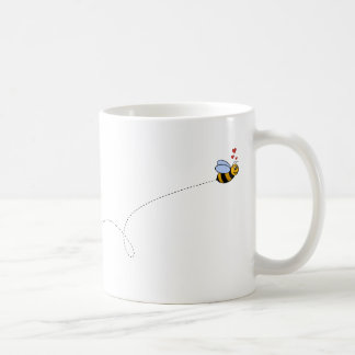 A Bee in Love Mugs