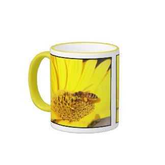 A Bee in your Tea Ringer Mug
