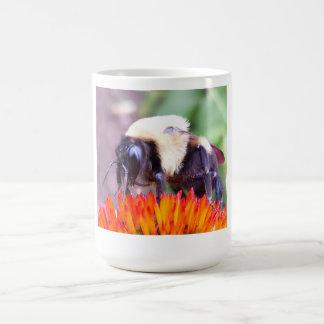 A Bee on a flower on a Mug! Coffee Mug