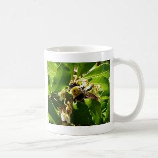 A Bees Texture Classic White Coffee Mug