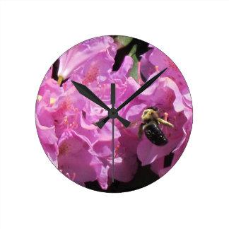 a bee's work round clocks