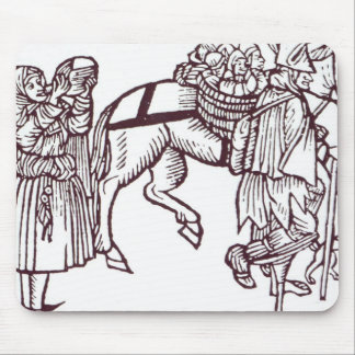 A Beggar Family Mouse Pad
