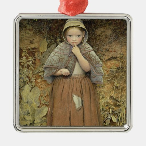A Beggar on the Path, 1856 Christmas Tree Ornament