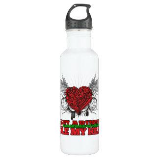 A Belarusian Stole my Heart Stainless Steel Water Bottle