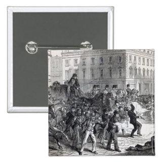 A Belfast Riot Pinback Button