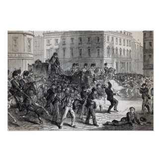 A Belfast Riot Poster
