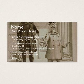 A Bell Boy Business Card