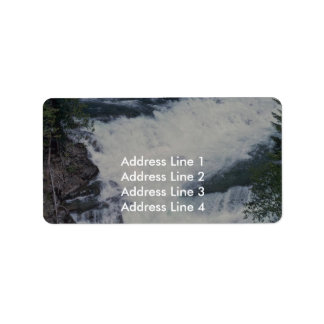 A Bend And Drop Personalized Address Label