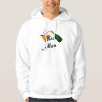 A Best Man Champagne Toast Hoodie