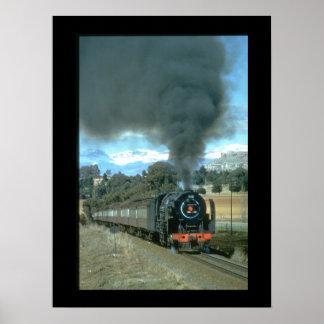 A Bethlehem to Bloemfontein train_Steam Trains Poster