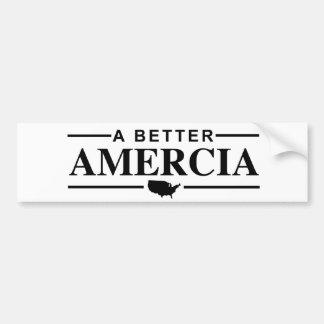 A Better Amercia Bumper Sticker