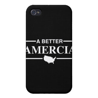 A Better Amercia Logo -.png Covers For iPhone 4