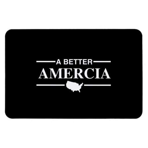 A Better Amercia Logo -.png Rectangle Magnets