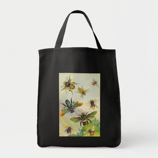 A Bevy of Beautiful Bees Bag