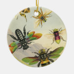 A Bevy of Beautiful Bees Ornament