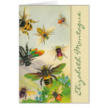 A Bevy of Bees Personalized Note Cards