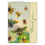 A Bevy of Bees Thank You Note Cards