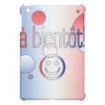 A Bientôt! French Flag Colors Pop Art iPad Mini Case