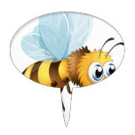 A big bee cake topper
