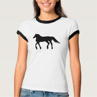 A Big Black Beautiful Horse T-Shirt