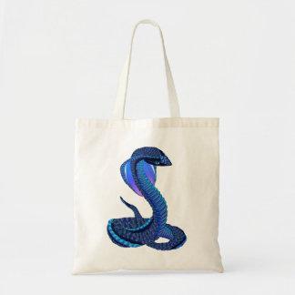 A Big Blue Snake Bag