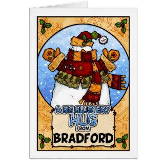 A Big Blustery Hug from Bradford Card