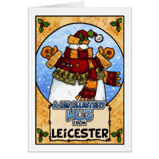 A Big Blustery Hug from Leicester Card